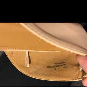 Charlotte Russe Shoes - Charolette Russe tan flats - never worn